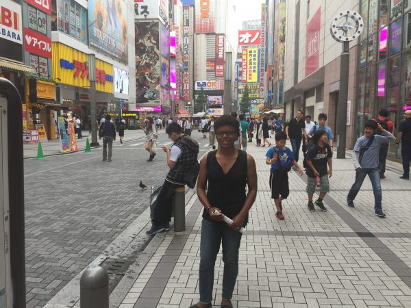 In front of Akihabara Station